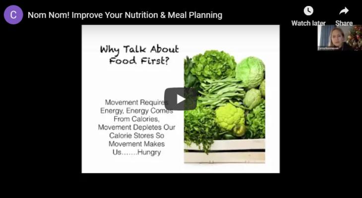 Nom Nom! Improve Your Nutrition & Meal Planning